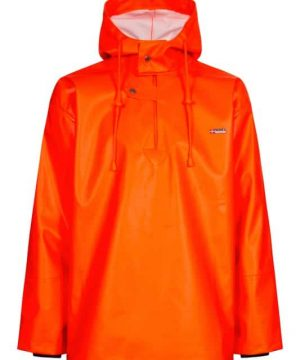 Lyngsoe orange fishing jacket