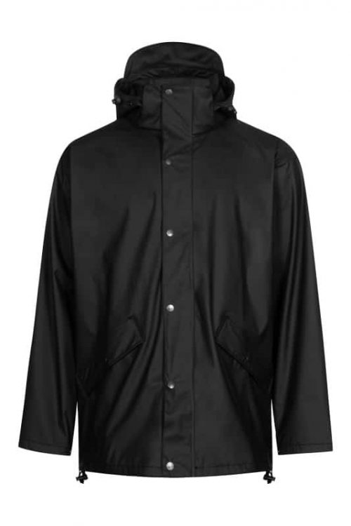 lyngsoe rain jacket in recycled material
