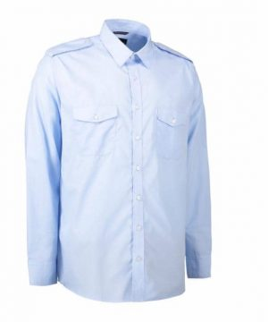 ID easy care long sleeve uniform shirt