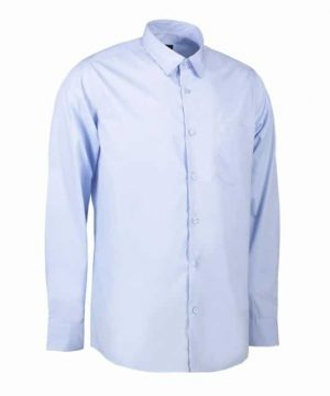 ID easy care men's long sleeve poplin shirt