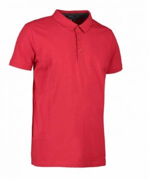 id men's stretch business polo shirt