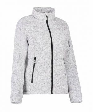 id ladies quilted fleece jacket