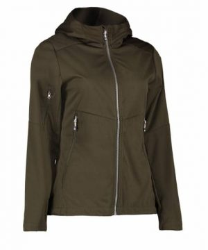 Id ladies lightweight softshell jacket