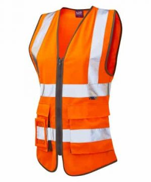 Leo ladies superior hi vis vest